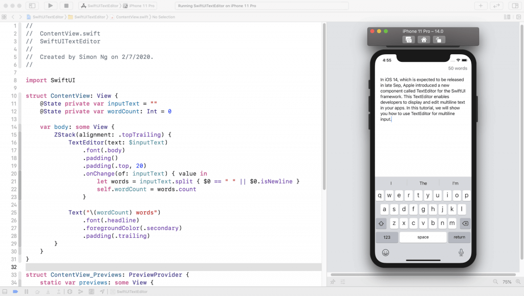 swiftui-texteditor-demo