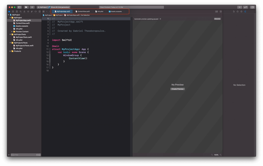 Xcode-12-tab