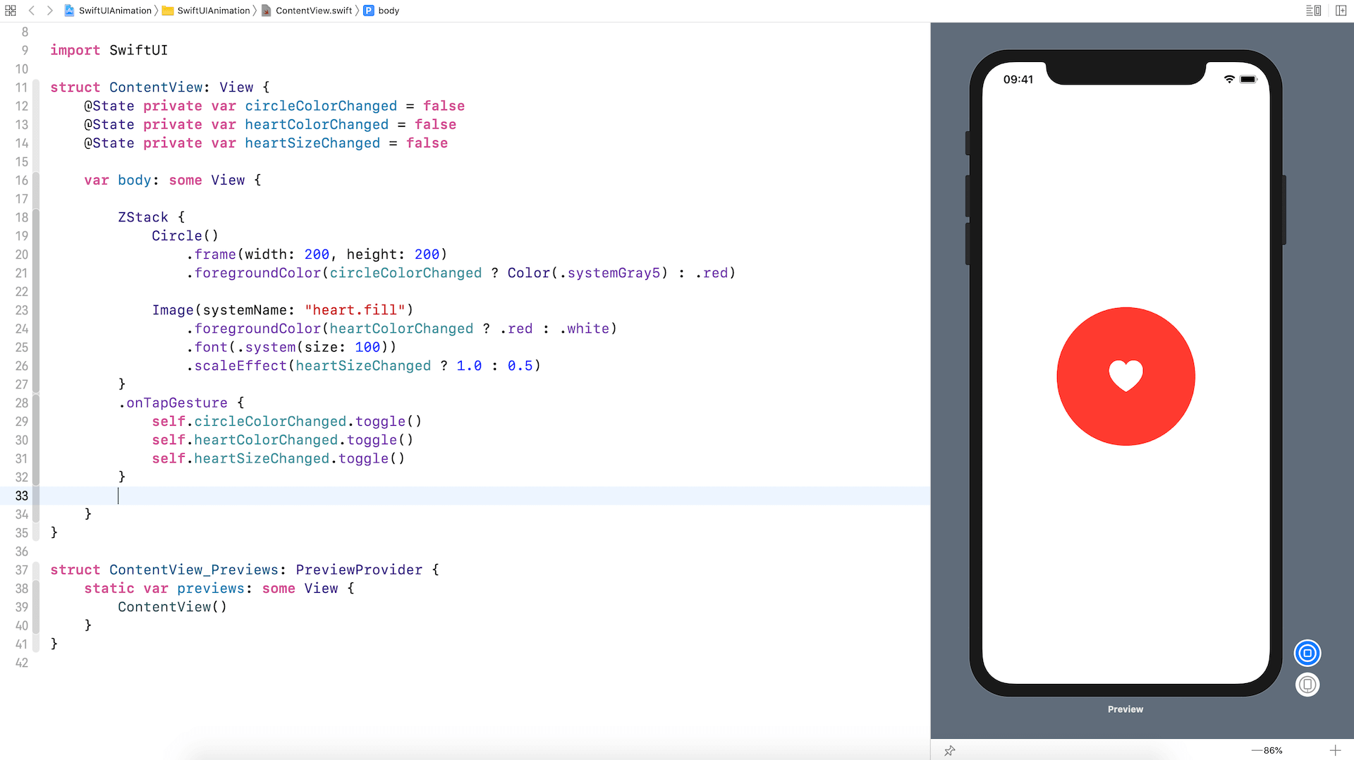 swiftui-animation-project