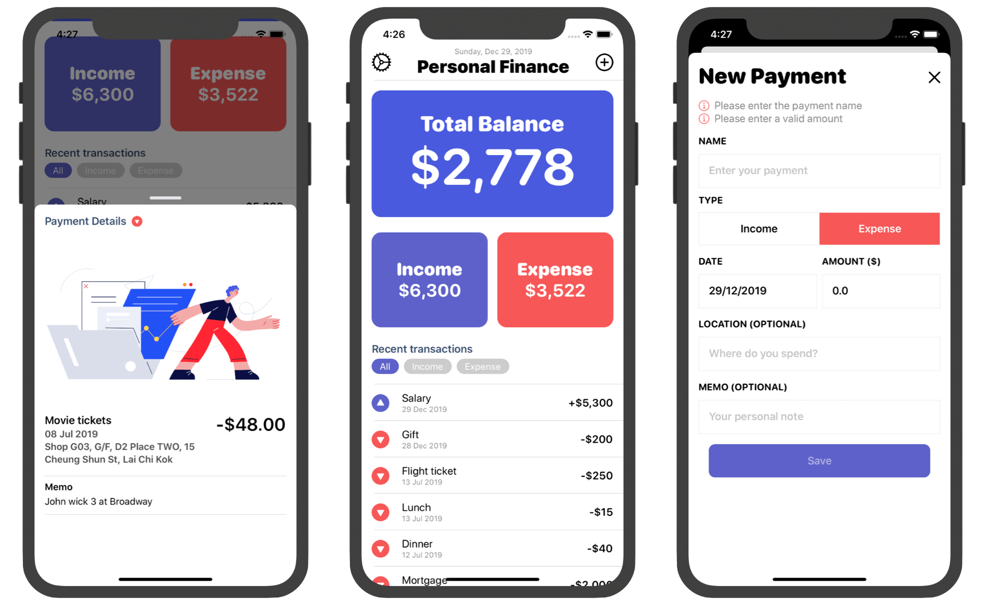 mastering-swiftui-book-personal-finance-app