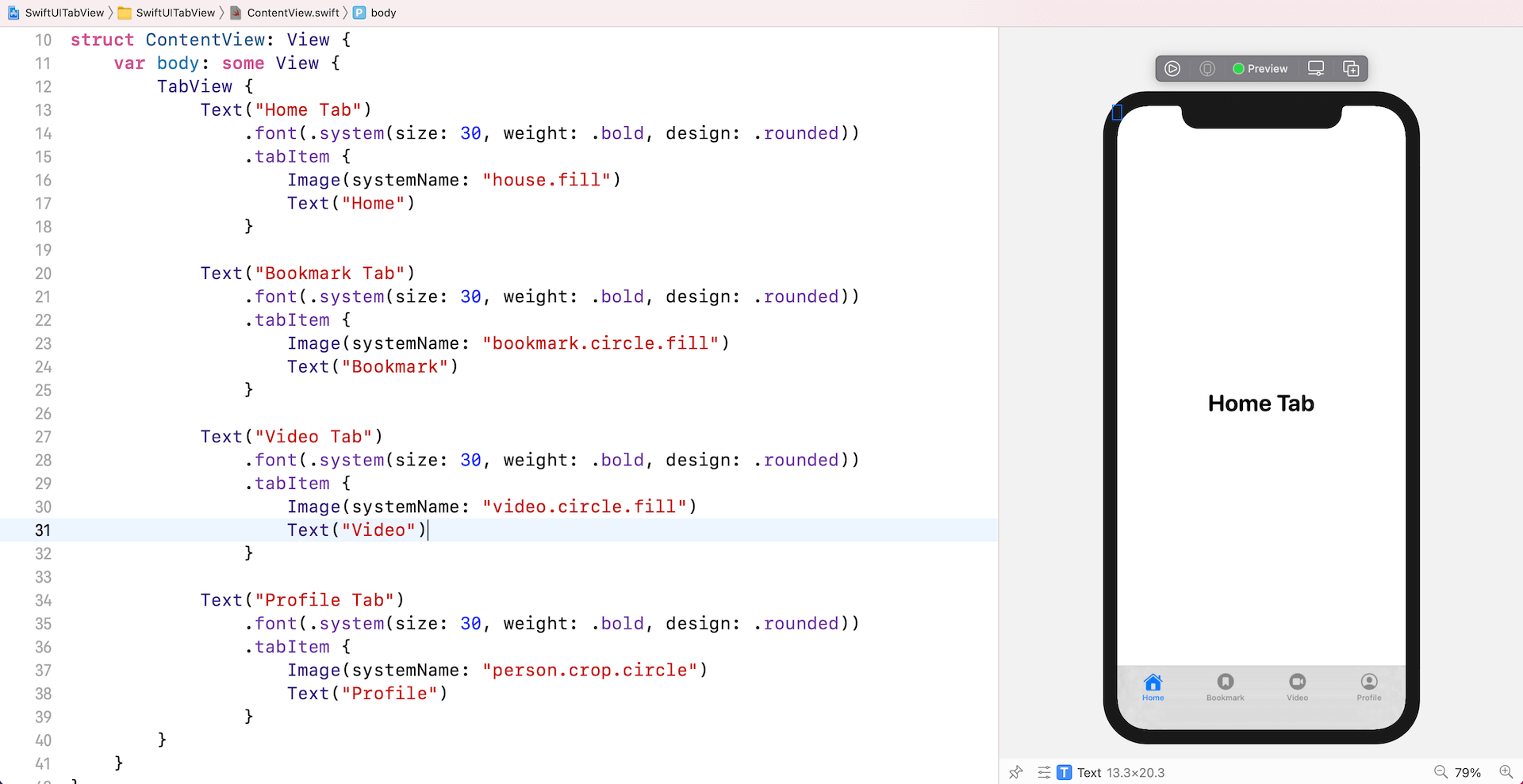 swiftui-tabview-four-tabs
