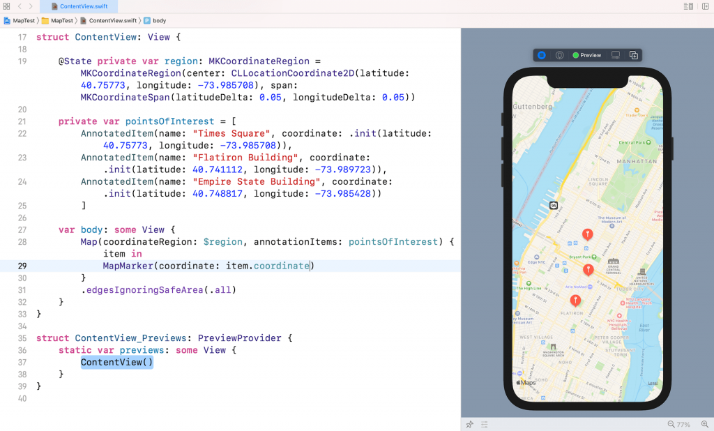 swiftui-map-annotations