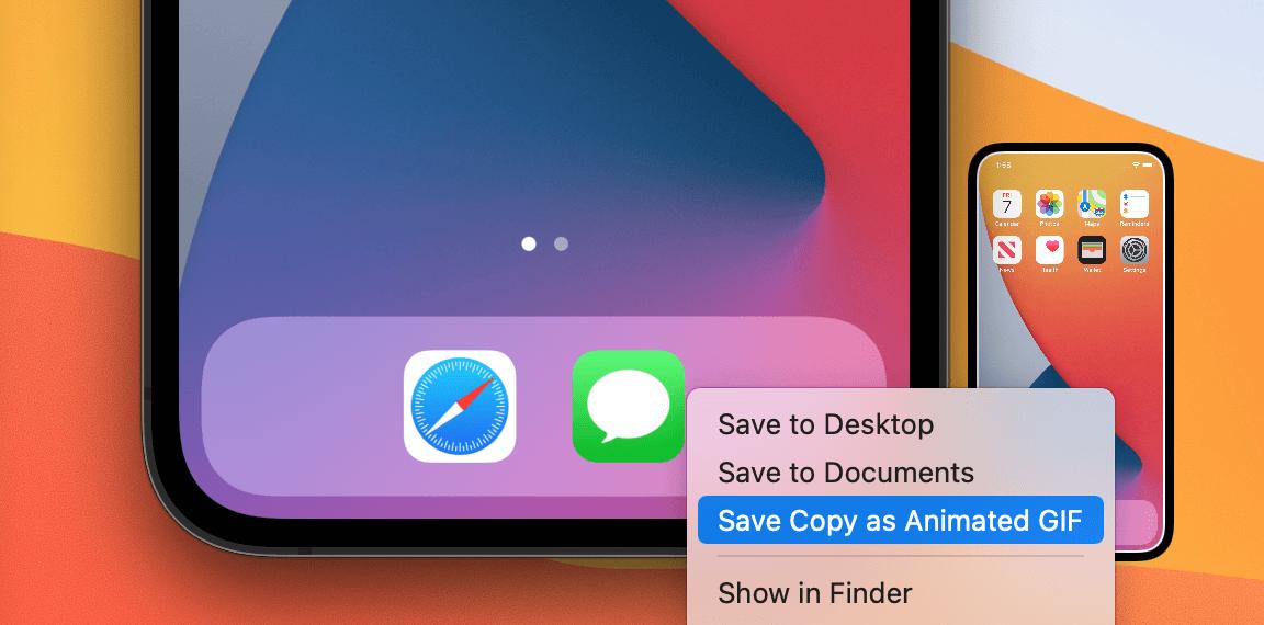 Xcode-save-copy-animated-gif