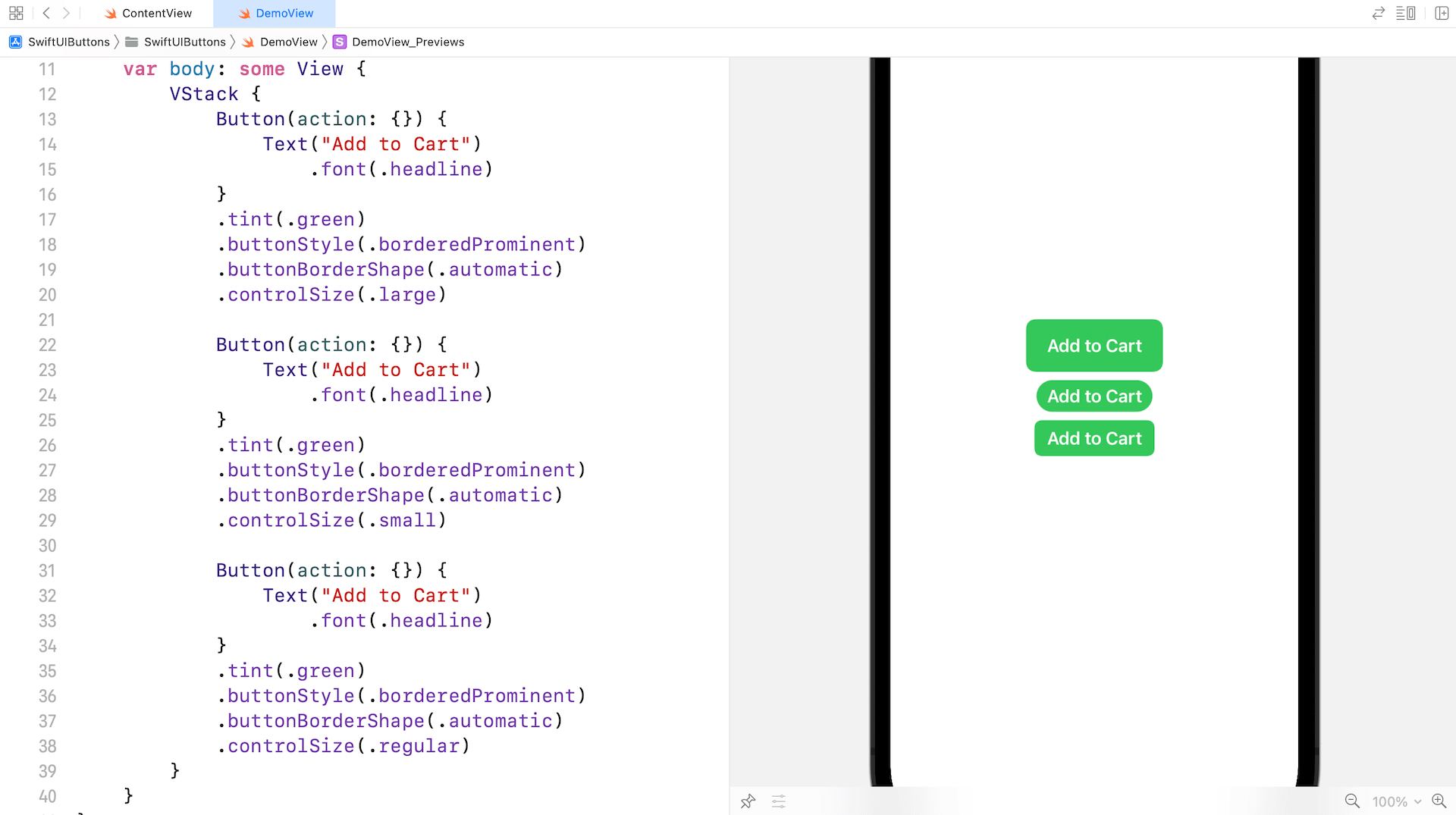 How to Style SwiftUI Buttons in iOS 15 1